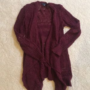 AEO Burgundy Sweater